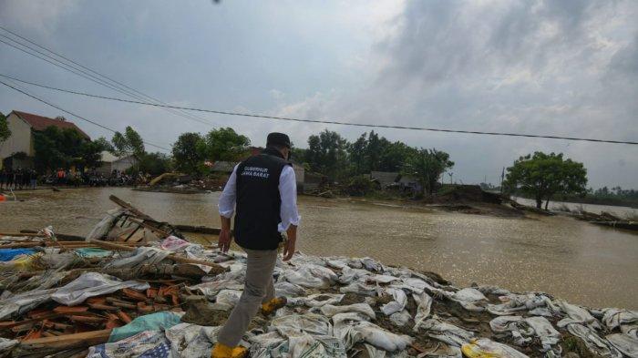 Tanggul Jebol di Bekasi Diperbaiki, Warga yang Rumahnya Rusak Bisa Ajukan Dana Perbaikan Rutilahu