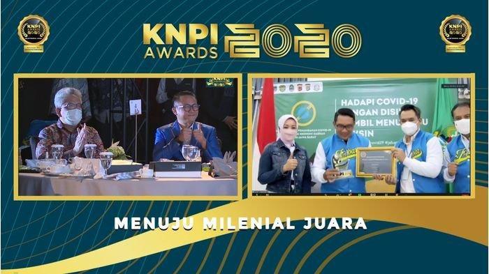 KNPI Beri Penghargaan Gubernur Jabar sebagai Bapak Pembangunan Kepemudaan Jabar