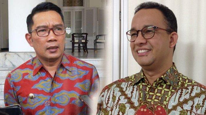 Ridwan Kamil dan Anies Baswedan Saling Ucapkan Selamat, Netizen Dukung Jadi Pasangan di Pilpres 2024