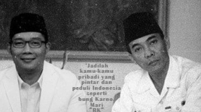 Ridwan Kamil dan Bung Karno