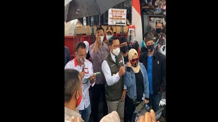 Ridwan Kamil Tak Mau Beberkan Rapat Semua Gubernur dengan Jokowi Soal UU Cipta Kerja