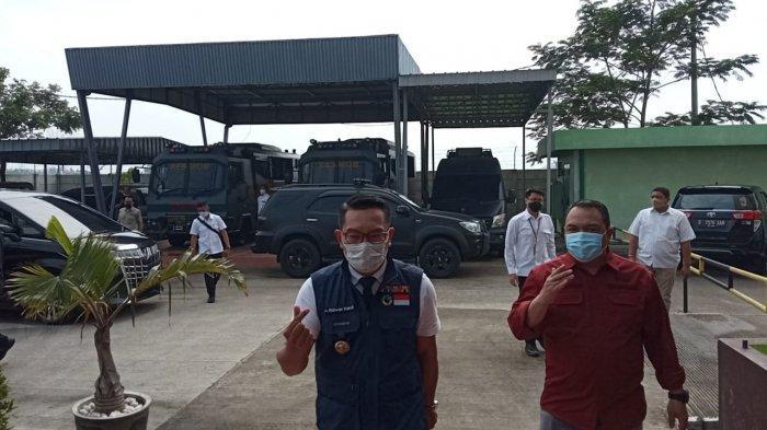 Datang ke Polda Jabar, Gubernur Jabar dan Dua Panitia Kegiatan di Megamendung Penuhi Panggilan