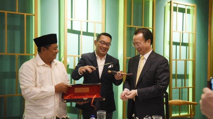 Ridwan Kamil Tawarkan Investasi di Segitiga Rebana ke Provinsi Chongqing Cina