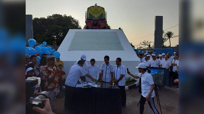 Menteri BUMN Resmikan Monumen Baru di Bandung, Berikut Sejarah di Balik Monumen Lokomotif