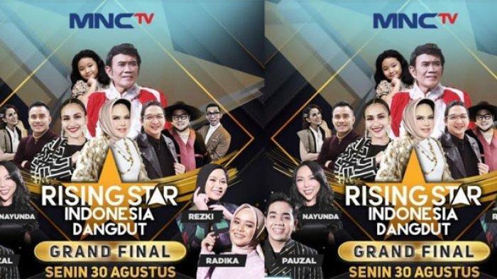 LINK Live Streaming Rising Star Indonesia Dangdut Babak Grand Final, Dimeriahkan Rhoma Irama