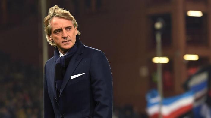 Roberto Mancini, pelatih Italia.