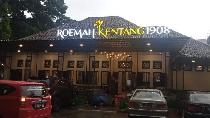 Rumah Kentang di Jalan Banda Kota Bandung yang dulu dikenal angker kini jadi resto cafe tempat nongkrong