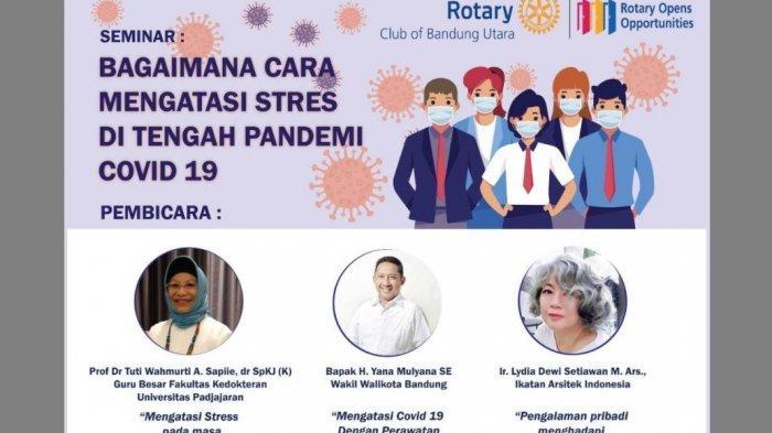 Atasi Stres di Masa Pandemi Covid-19, Tips Sehat Profesor Unpad di Seminar Rotary Club Bandung