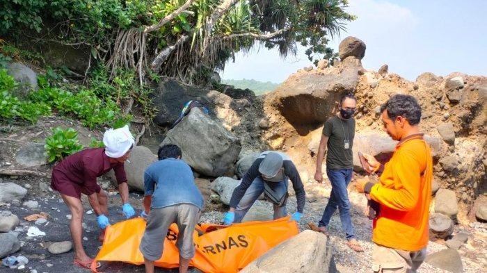 Terseret di Pantai Cidaun 3 Bulan Lalu, Wisatawan Ini Ditemukan Tinggal Tulang, Dikenali dari Celana