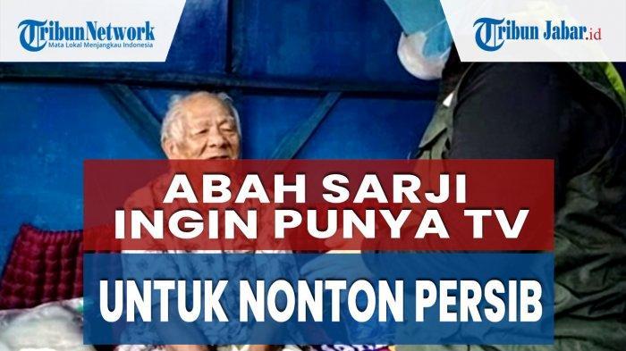 Rumah Baru Dicat Biru Demi Persib Bandung, Abah Sarji Ingin Punya TV untuk Nonton Persib