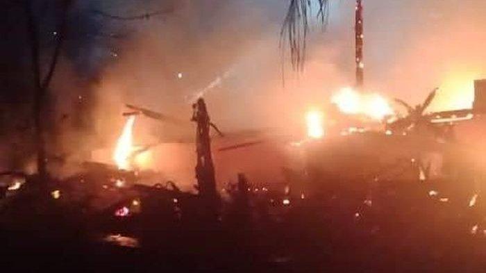 Rumah Pak RT di Ciamis Kebakaran, Salat Tarawih di Masjid pun Bubar