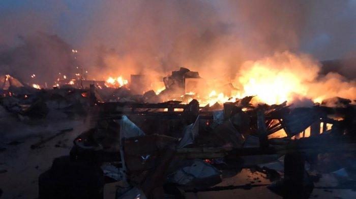 Rumah Makan Kari Am di Sukabumi Terbakar, Rata dengan Tanah, Kerugian Miliaran Rupiah