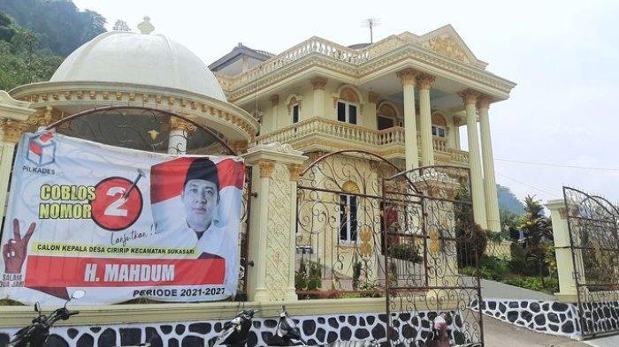 Hebatnya Kades Sultan Asal Purwakarta Ini, Bangun Rumah Seperti Keraton untuk Hal Ini