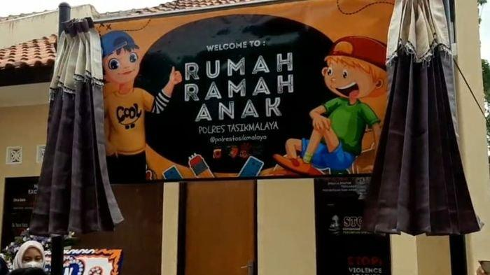 Begini Penampakan Rumah Ramah Anak di Aspol Polres Tasikmalaya yang Bakal Bikin Betah Anak-anak