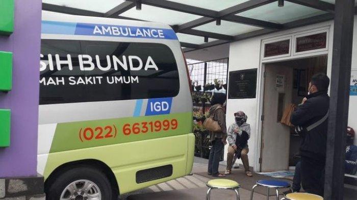 Rumah Sakit Umum Bunda Kasih Kota Cimahi. Pembangunan rumah sakit ini menjerat Wali Kota Cimahi Ajay M Priatna ditangkap KPK.