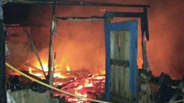 Enam Rumah di Cugenang Cianjur Ludes Terbakar, Kerugian Mencapai 200 Juta