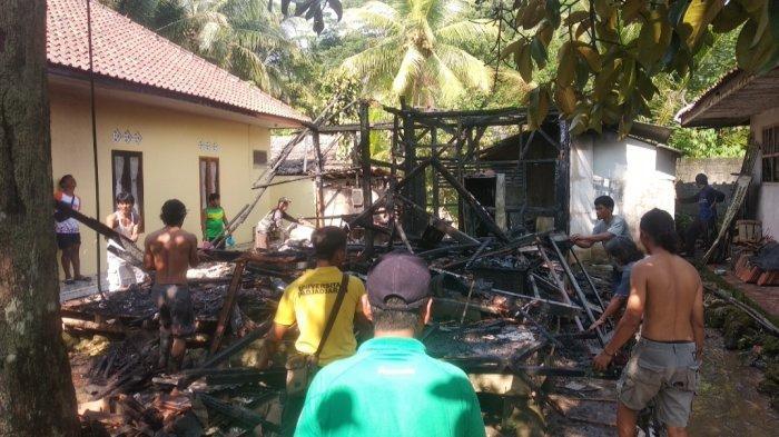 Akibat Korsleting, Rumah Milik Warga di Pangandaran Ludes Terbakar, Tak Ada Laporan ke Damkar