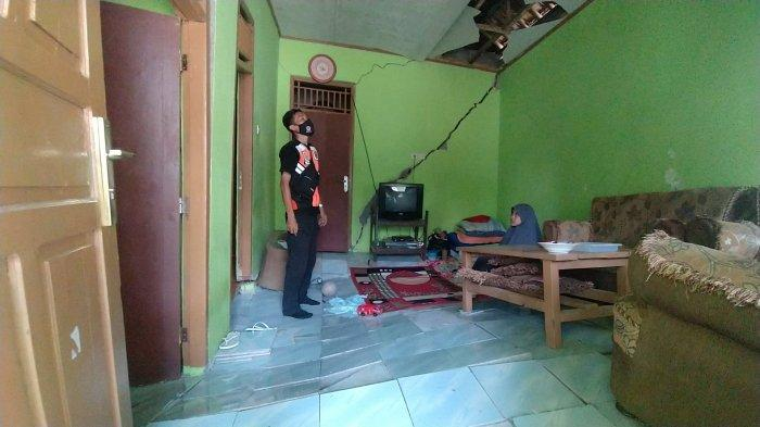 7 Rumah di Bantargadung Sukabumi Rusak Akibat Pergerakan Tanah, Kades: Kerugian Rp 300 Juta