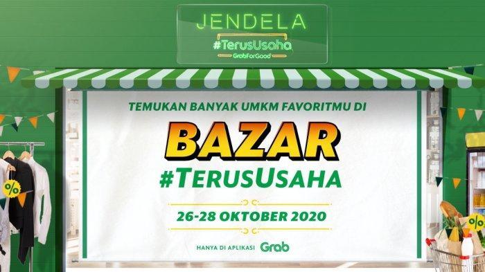 Grab Gelar Online Bazar #TerusUsaha Serentak di 16 Kota, Promosikan 52.000 UMKM Lokal