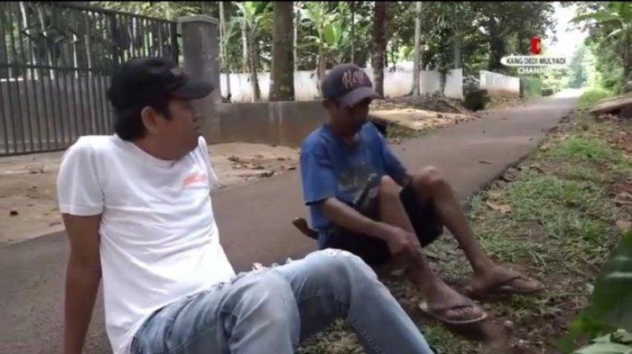 Video Dedi Mulyadi Bikin Baper, Ketemu Teman SMP di Subang yang Berbeda Nasib, Ini yang Dia Lakukan