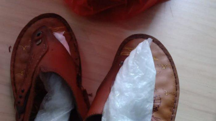 Sabu-sabu disimpan di kaus kaki