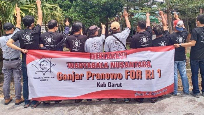 Relawan Wadyabala Nusantara Garut Dukung Ganjar Pranowo Jadi Capres 2024