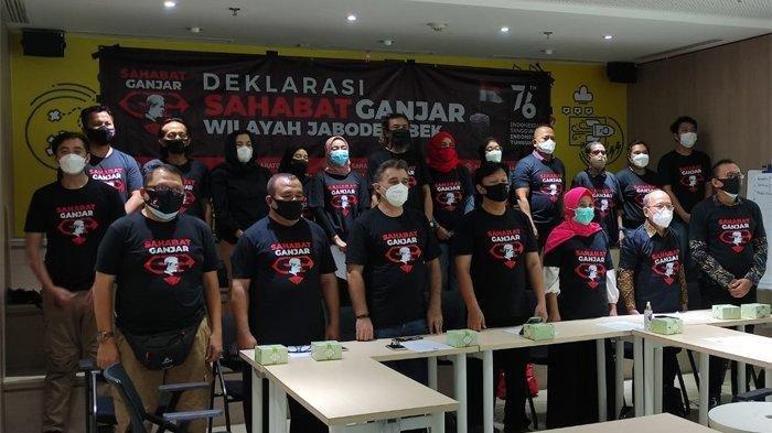 Ganjar Pranowo Didukung Sahabat Ganjar Jabodetabek untuk Maju Pilpres 2024