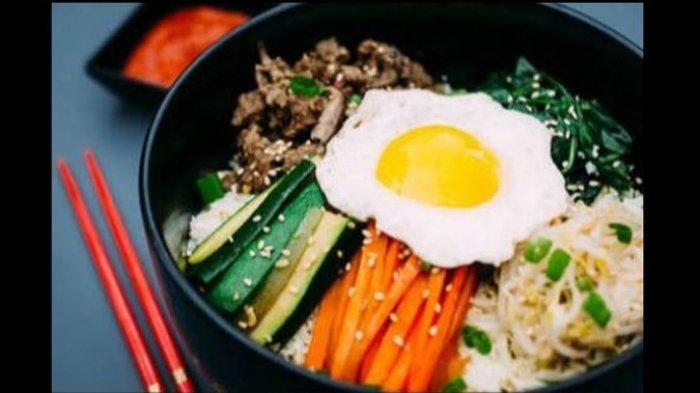 Begini Resep dan Cara Membuat Bimbimbap yang Lezat untuk Hidangan Sehat di rumah