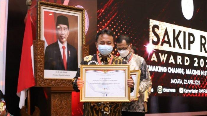 Mewakili Jabar, Sumedang Raih Penghargaan SAKIP RB Award 2020