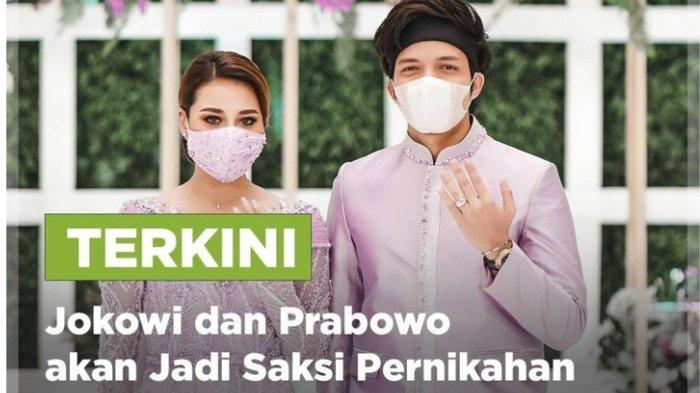 Lagi Tayang, RCTI Live Streaming Pernikahan Atta Halilintar-Aurel, Ada Kursi Buat Jokowi dan Prabowo