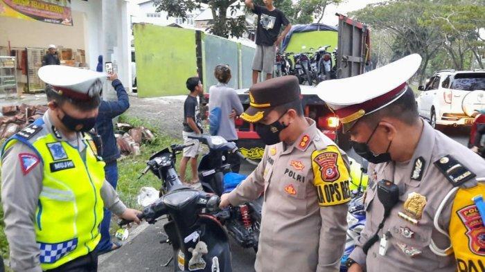 Arena Balap Motor Liar di Jalan Mashudi Kota Tasikmalaya Digerebek Polisi, 100 Unit Motor Diamankan