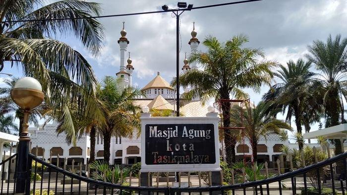 Kota Tasikmalaya Zona Oranye, Salat Idulfitri Akhirnya Bisa di Masjid Agung
