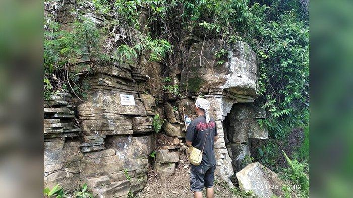 Batu Susun BatuRompe Ciamis Kini Ramai Dikunjung, Sampah pun Mulai Berserakan