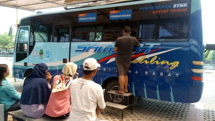 Mobil Samsat Keliling Polres Cirebon Hadir di Desa Kedongdong Susukan
