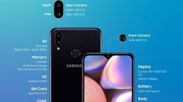 Harga dan Spesifikasi Hape Samsung Terbaru Januari 2020, Termurah Galaxy A10 Rp 1,6 Juta
