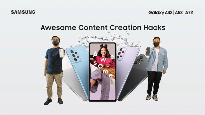Review Singkat 3 Hape Terbaru Samsung, Samsung Galaxy A32, A52 dan Samsung Galaxy A72