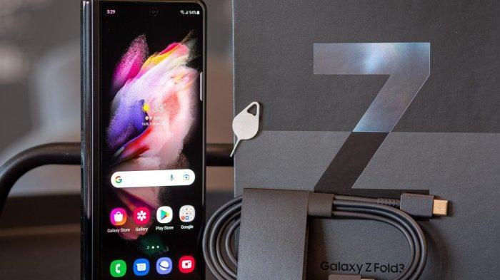 Resmi Diluncurkan di Indonesia, Ini Harga dan Spesifikasi Hape Samsung Galaxy Z Fold3 5G