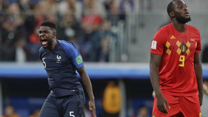 Prancis Ulangi Sejarah 20 Tahun Lalu, Melaju ke Final Piala Dunia Berkat Bek