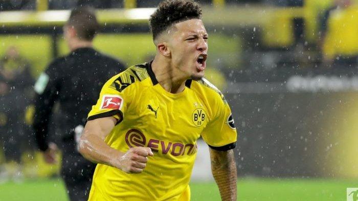 Manchester United Siap Pecahkan Rekor Transfer Klub demi  Pemain Borussia Dortmund Jadon Sancho