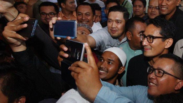 Sandiaga Kunjungi Pesantren Daarut Tauhid tapi Aa Gym-nya Lagi di Jakarta, Ini Maksud Kunjungannya
