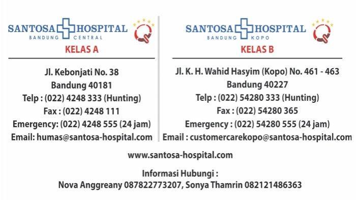 Santosa Hospital alamat