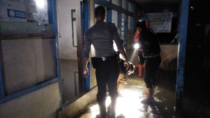 Tengah Malam Tadi Sukabumi Dihantam Banjir usai Diguyur Hujan Deras, Pondok Pesantren Tak Luput
