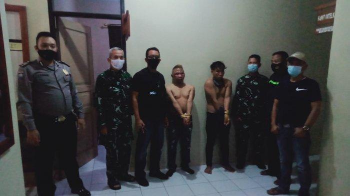 Ancam Anggota TNI Pakai Arit, Dua Warga Rajadesa Ciamis Diciduk Petugas Gabungan