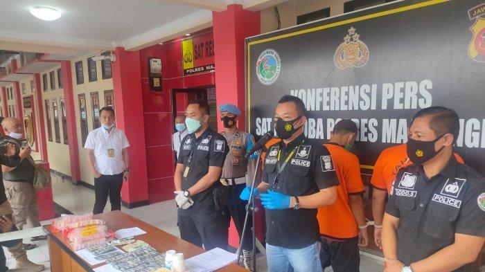 Simpan Sabu di Wadah Bekas Biskuit, Warga Sumedang Dibekuk Polisi di Majalengka