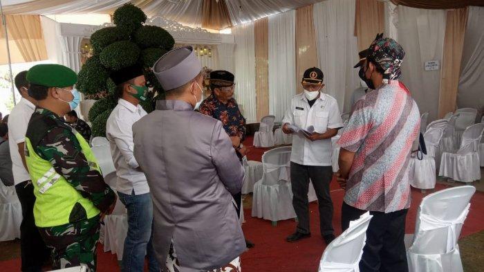 Baru Selesai Akad Nikah, Resepsi Pernikahan di Kertahayu Ciamis Dibubarkan Satgas Covid-19