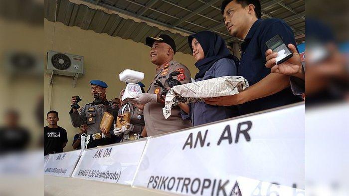Sembilan Bandar Narkoba Diringkus Polres Cianjur, Para Bandar Itu Juga Bicara Soal Keuntungan