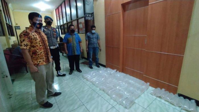 Polres Sukabumi Ungkap Kasus Peredaran Benur di Sukabumi, Amankan 18 Ribu Ekor Lebih
