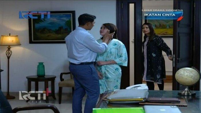 Satu adegan di sinetron Ikatan Cinta episode 194 yang bikin netizen baper.