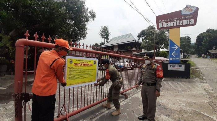 Langgar Protokol Kesehatan, Rumah Makan di Cirebon Disegel