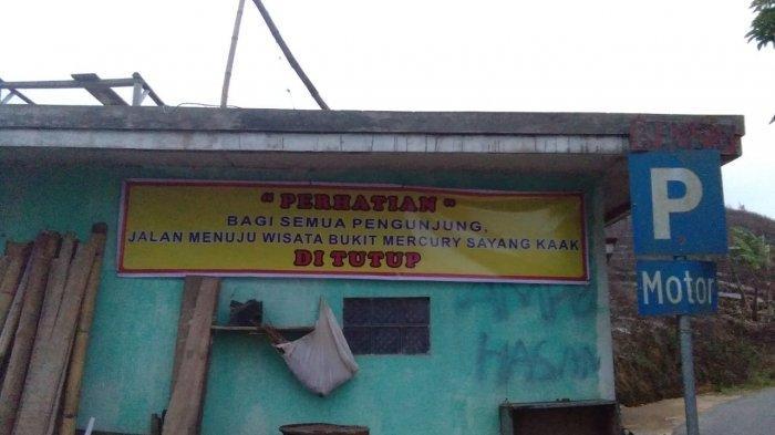 Masuk Nominasi Anugerah Pesona Indonesia 2020, Tempat Wisata Bukit Mercury Sayang Kaak Malah Tutup
